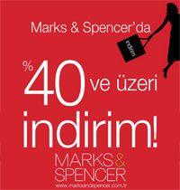 Marks and Spencer'da indirim başladı