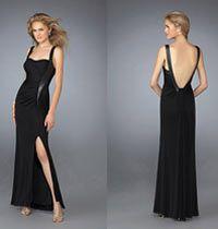 25 Siyah Gece Elbisesi