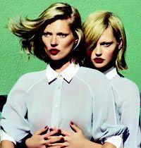 Kate Moss'un Yeni Longchamp Çekimi Ses Getirdi