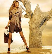 DESA İlkbahar Yaz Hazır Giyim Koleksiyonu, Deri Çanta, Ceket ve Ayakkabılarla Birlikte..