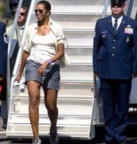 Michelle Obama Şort Krizi