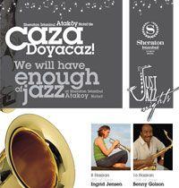 Sheraton İstanbul Ataköy Hotel'de eşsiz bir jazz konserine biletiniz Modaport'tan