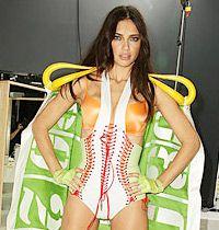 Adriana Lima Victoria's Secret Defilesi İçin Sıfır Kalori Diyette