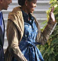Michelle Obama'nın Sonbahar Stili