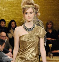 Chanel 2011 Sonbahar Defilesi : Bizans Stili