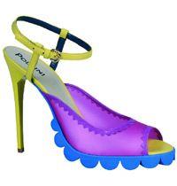 Nicholas Kirkwood'dan Çılgın Topuklu Ayakkabılar