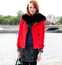 Sokak Modası: Kışlık Kırmızı Ceket