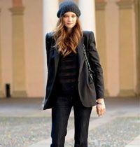 Sokak Modası: Kot Pantolonlu Çalınası Stil