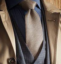 Erkek Giyimde Lüks Ofis Kombinasyonu