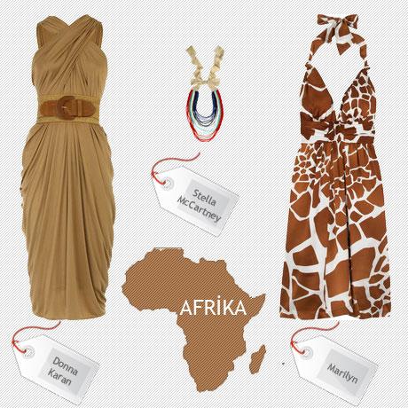 bu sezon moda afrika
