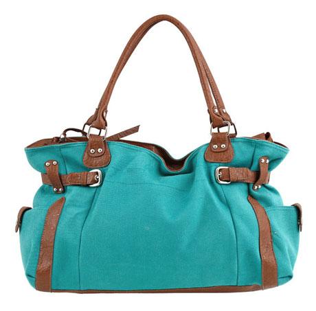 Mudo Yeşil Mavi Çanta