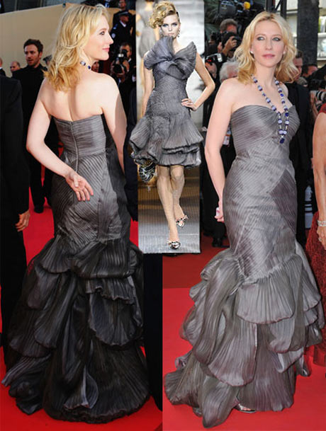 Cate Blanchett Armani Elbisesiyle