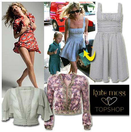 Kate Moss Topshop Koleksiyonu