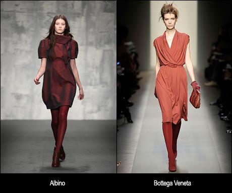 2008 Sonbahar Elbise Modası