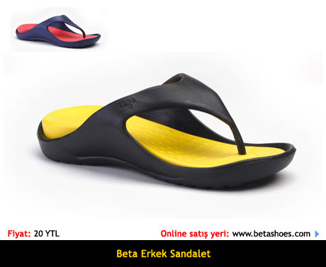 Beta Erkek Sandalet Terlik