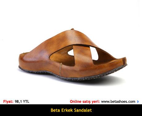 Beta Yazlık Erkek Sandalet Terlik