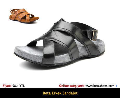 Beta Erkek Sandalet Terlik Satın Al