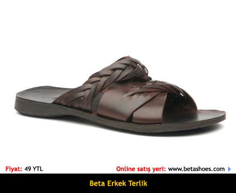 Beta Erkek Sandalet Terlik Online Satın Al