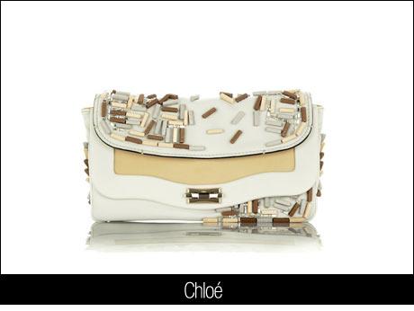 Chloe El Çantası Beyaz