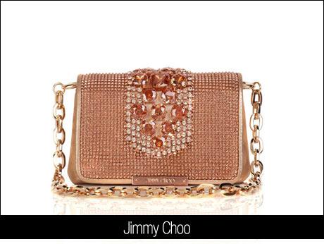 Jimmy Choo Taşlı Çanta