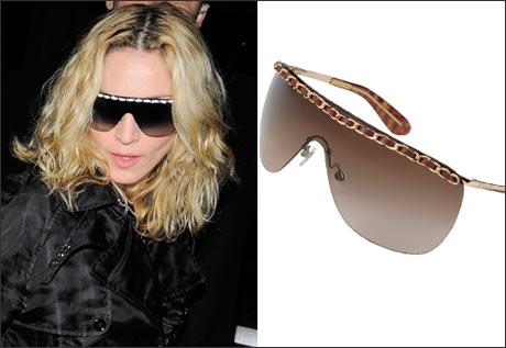 Madonna\'dan Gözlük Modası