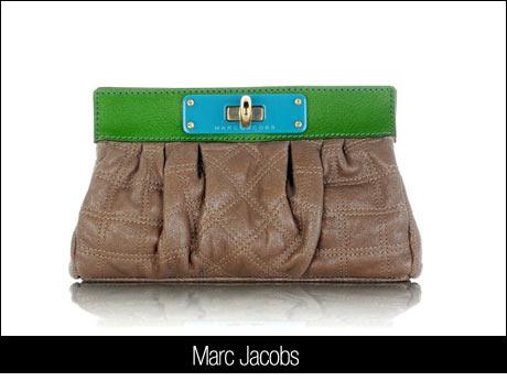 Marc Jacobs Kahve Yeşil Çanta