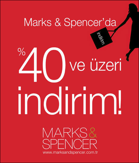Marks and Spencer indirimde