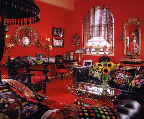 Anna Sui ev dekorasyonu