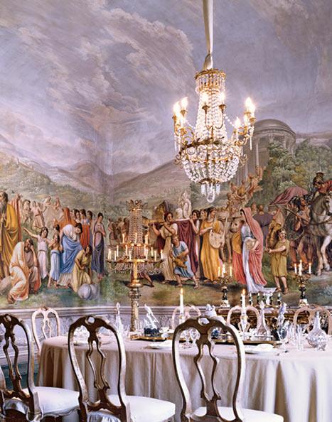 Marchesa Cristina Pucci di Barsento ev dekorasyonu