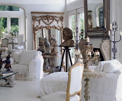 Donna Karan ev dekorasyonu