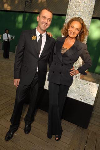 Diane Von Furstenberg Şık Takım Elbisesi ile