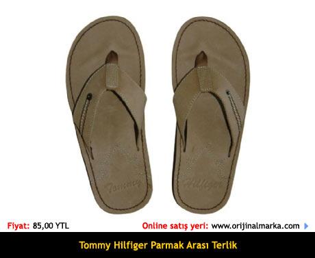 Tommy Hilfiger Parmakarası Terlik Sandalet