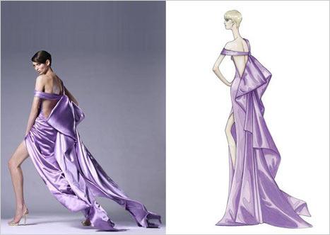 Versace Bacak Dekolteli Elbise