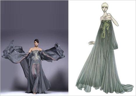 Versace Straplez Elbise
