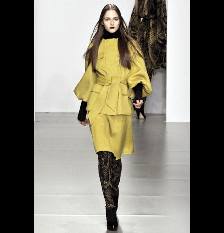 Jeager London Sarı Bayan Takım Elbise