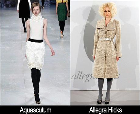 Beyaz Elbise ve Bej Palto Moda