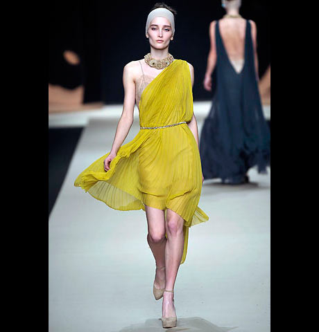 La Perla Omuz ve Bacak Dekolteli Mini Elbise