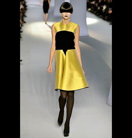 Yves Saint Laurent Kısa Gece Elbisesi