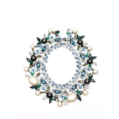 Balenciaga - Kristal Riviere kolye