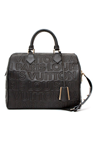Louis Vuitton Siyah Deri Çanta
