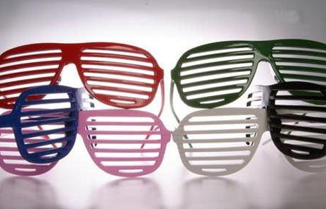 Shutter Shades Gözlükler Rengarenk