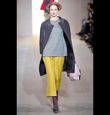 Marni Sarı Bayan Pantalon