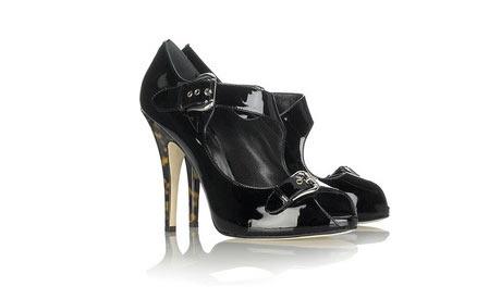 Giuseppe Zanotti - Toka detaylı açık ayakkabı