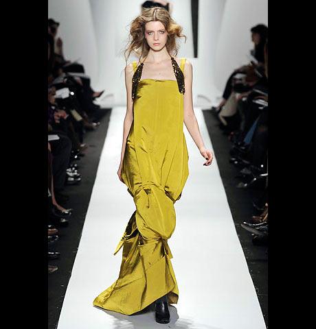 Vera Wang Uzun Gece Elbisesi