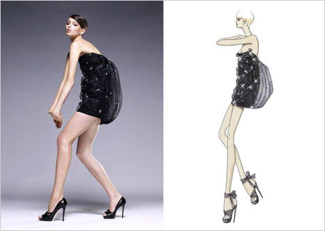 Versace Siyah Gece Elbisesi