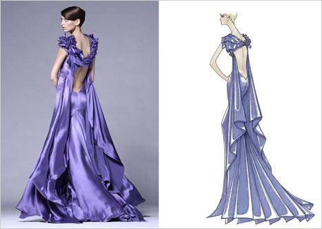 Versace Sırt Dekolteli Elbise