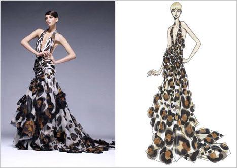 Versace  V Yaka Elbise