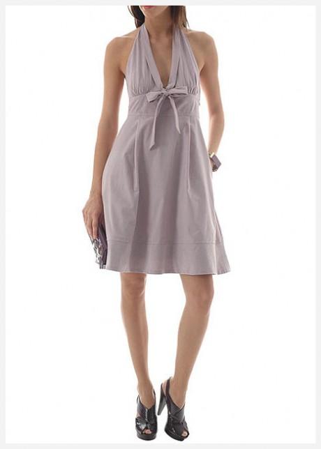 Göğüs Dekolteli Gece Elbisesi