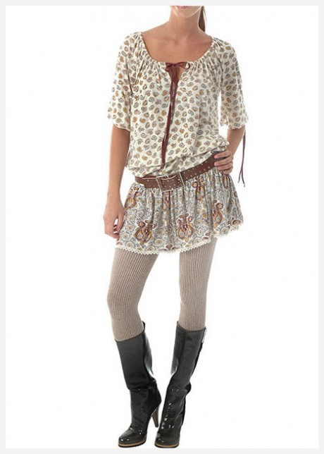 Tunik Elbise Modeli