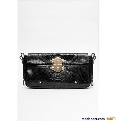 Chloé - Yılan derisinden el çantası